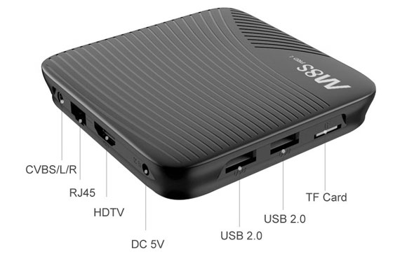 m8s tv box recensione