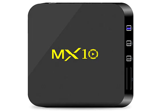 MX10 TV Box Recensione